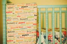 Project Nursery - Jenny Lind Crib in Lagoon Blue