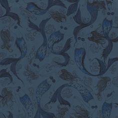 Lagoon Mermaids   Wallpaper at debenhams.com