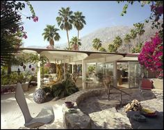 palm springs | Das William Burgess House in Palm Springs