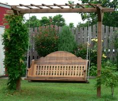 Love this Victorian Swing...(You can call and have them build it however you want).