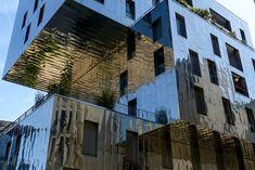 Bildergebnis für lyon confluence metal facade