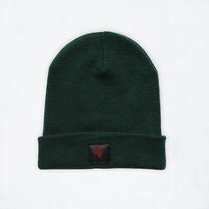 Winter Beanie bottle green hat cool fashion brand