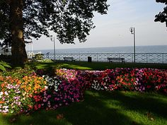 Evian, France (yes, where the water comes from)