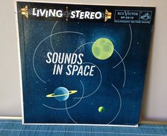 Sounds in Space LP vintage record fifties by SpaceModyssey on Etsy