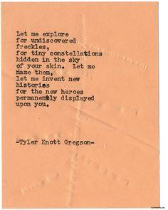 Typewriter Series #1747 by Tyler Knott Gregson
