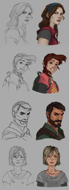 The Last of Us Characters Character Concept, Character Art, Concept Art, Character Design, Overwatch, The Last Of Us, Edge Of The Universe, Dc Comics, Life Is Strange