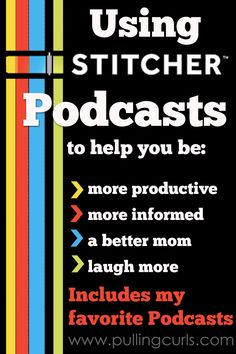 Using podcast helps your day be more productive and enjoyable in many ways. See how I use them in my day!