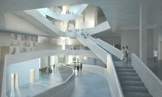 Arts Building for University of Iowa / Steven Holl Architects
