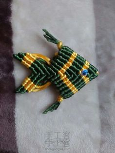 斜卷结系列教程之立体鱼