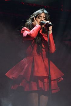 Camila Cabello performs onstage during KISS Jingle Ball 2018 at. Shawn And Camila, Camila And Lauren, Fifth Harmony, Keratin, Camilla, Havana, Kiss 108, Sabrina Carpenter, Female Singers