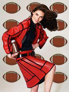 "theories-of:  ""Roe Ethridge, Hilary with Footballs (Big) , 2013, C-print, 139.8 x 105.8 cm  """