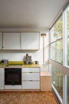 Donnas kitchen by Kerf Design Kerf Design is a custom cabinet