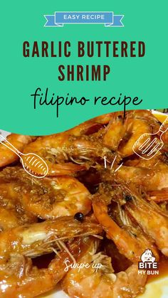 The most common and delicious way to cook shrimp in the Philippines is by steaming it.It's simple but Pinoys like it because the shrimp's flavor is glorified and they can use vinegar as a dip.However, there are times when everyone is looking for something fancier and something apt for parties. This is when Garlic Buttered Shrimp Recipe comes into the picture.#filipinorecipe #asianrecipes #seafood