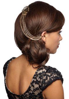 #chain chain chain #hair piece #accessory via @modcloth under 13 bucks