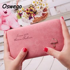 Cartoon Umbrella Pattern Ladies Long Wallet Phone Package Boxes Female Bag Women Leather Boxes Wallet Purse Card Holder Clutch