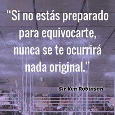El Elemento -Sir Ken Robinson.  #creativity #creatividad #venezuela #caracas #art #creativity