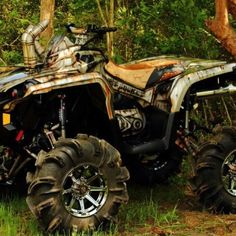 custom painted can am outlander 100 with nos also knows as rust bucket