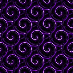 Purple and black spirals Purple Candy, Purple Love, Pastel Purple, All Things Purple, Shades Of Purple, Purple Stuff, Purple Rain, Black And Purple Background, Paisley Background