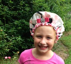 Dry Diva ~ LITTLE DIVA Designer Shower Caps! Great Tween Gift. Save 10% ~ coupon code PIN10 http://bluegiraffeboutique.com/categories/accessories/shower-caps-spa-hair-bands.html