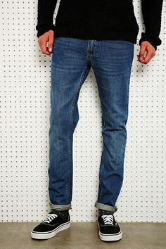 Cheap Monday High Slim Jeans in Blue