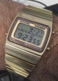 Retro Watches, Vintage Watches, Watches For Men, Watch 2, Beautiful Watches, Watch Brands, Digital Watch, Seiko, Casio Watch