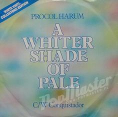 Procol Harum A Whiter Shade Of Pale  White Vinyl Collectors Edition H BUG 77
