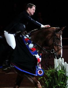 McLain Ward & Sapphire.  Happy Retirement to an incredible horse.