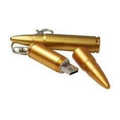 Amazon.com: Cool Bullet Special Style 8GB USB Flash Drive with keychain(Golden): Computers & Accessories