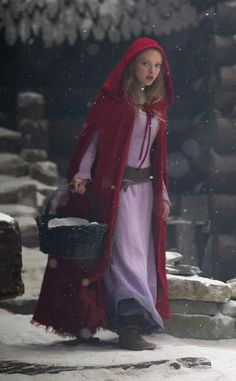 red riding hood halloween costume idea