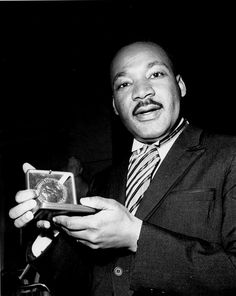 Martin Luther King Jr. wins the Nobel Peace Prize, October 14th 1964