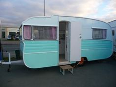Unique Memphis Belle  Retro Custom Caravans
