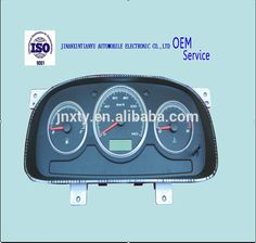 Auto car truck lcd instrument cluster dashboard gauges 1B1783760003