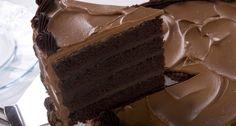 Flourless Chocolate Ganache Fudge Cake