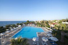 Outdoor swimming pool #zorbasvillage #vitahotels #greece #crete