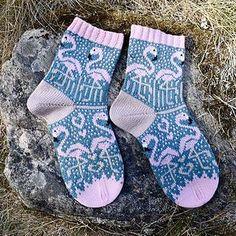 Ravelry: Designs by JennyPenny Ravelry, Knitting Socks, Knit Socks, Cute Socks, Flamingo, Knit Crochet, Projects To Try, Designers, Crafts