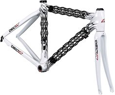 Delta7 Bikes - beautiful organic design, carbon fiber truss frame, only 1.9 lbs.!