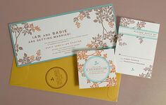 Lovely Dauphine Press invitation- I so wanted this when I was getting married.