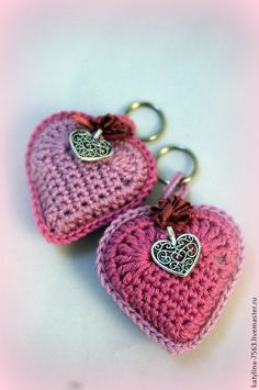 Crochet Fruit, Crochet Ball, Love Crochet, Crochet Gifts, Crochet Flowers, Crochet Toys, Knit Crochet, Crochet Keychain Pattern, Crochet Teddy Bear Pattern
