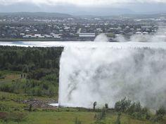 Icelandic fumarole Niagara Falls, Iceland, Nature, Travel, Destiny, Viajes, Ice Land, Naturaleza, Destinations