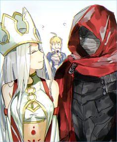 Saber / Irisviel Von Einzbern / Kiritsugu Emiya【Fate/Grand Order】
