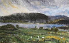 Lynn Comley, UpandDownDale - a textile felt artist based in the Peak District National Park. My website displays some example of my textile and mixed media artwork.