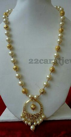 Beautifull pearl chain