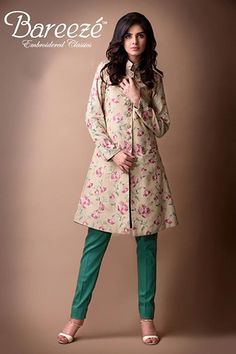 Embroidered Classic Winter Collection By Bareeze