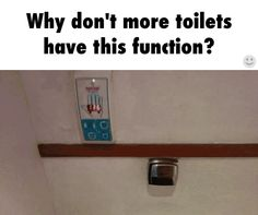 Toilets need to learn to do the thing