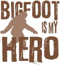 Bigfoot #MythicCreatures for Courtney