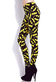 Batman™ Leggings | FOREVER21 Keep calm and call Batman #Leggings #BatsAndCats #Graphic