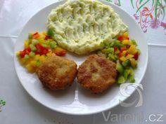 Chutná a rychlá varianta karbanátků se sýrem a petrželkou.