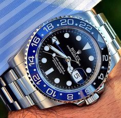 Rolex gmt master 2 Black blue