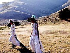 Punk Cowgirl Editorial : Vogue Italia 'Wild Chic Style'