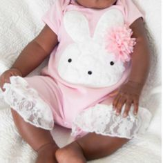 Peaches 'N Cream Pink Bunny  from Freckles Children's Boutique for $59.00